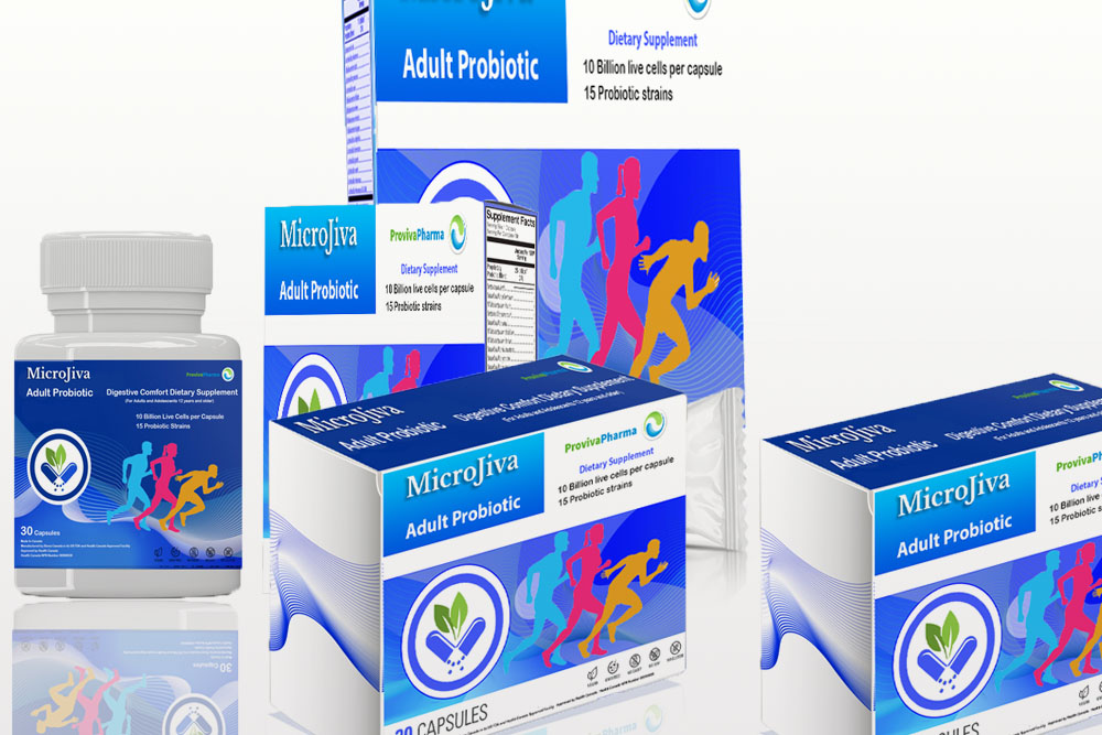 Microjiva adult probiotic regular strength