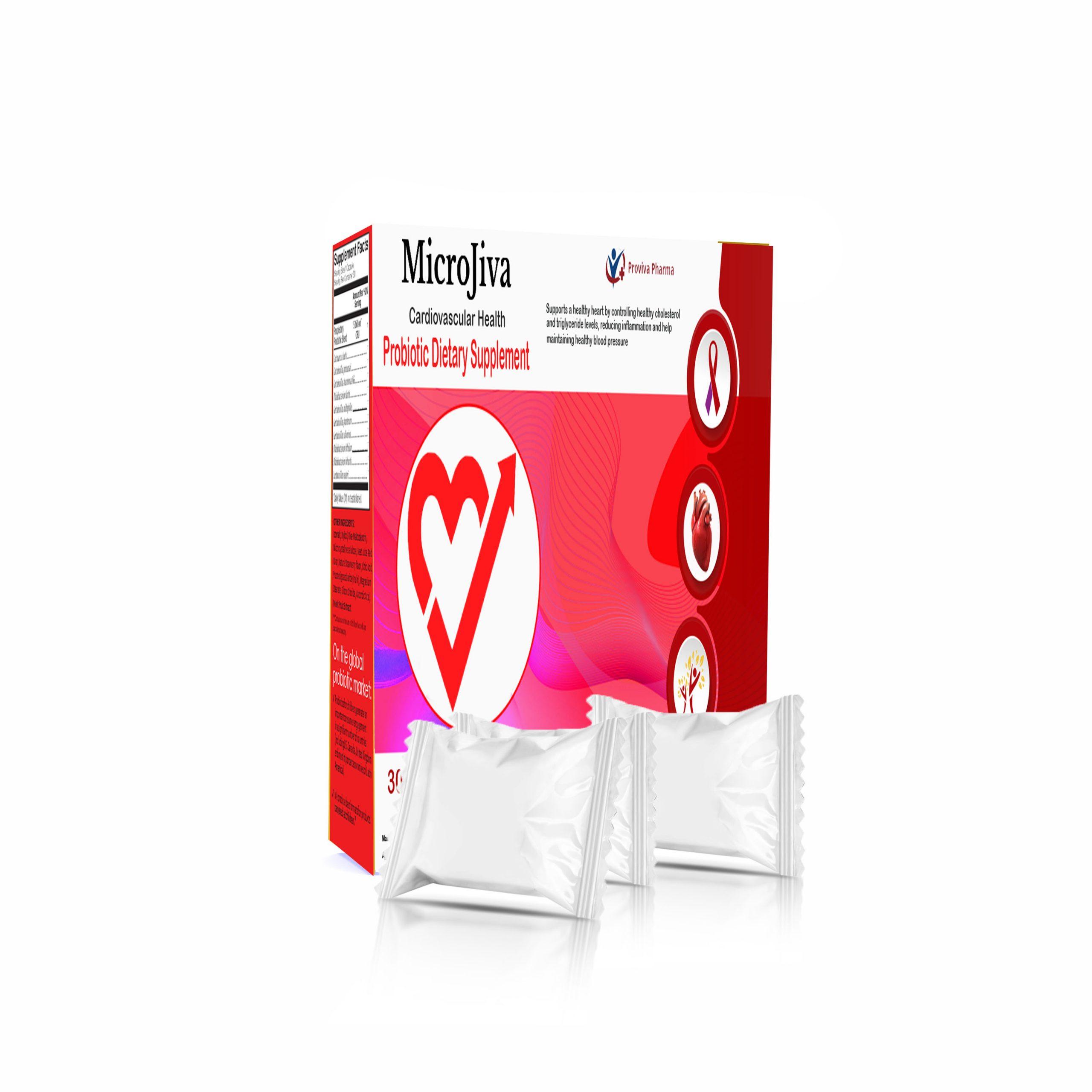Microjiva Probiotic Cardiac Package