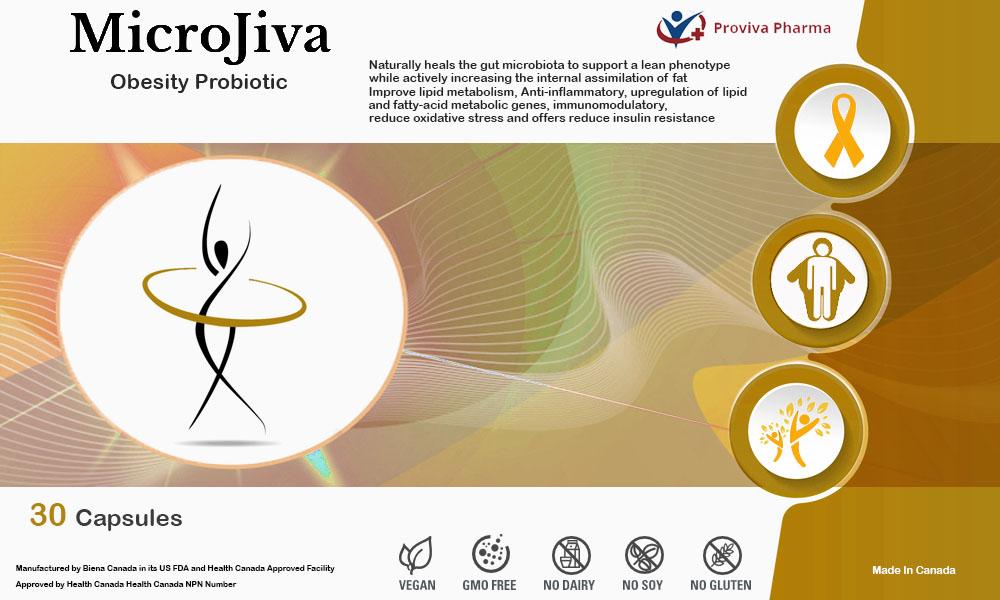 MicroJiva Obesity Probiotic Dietary Supplement